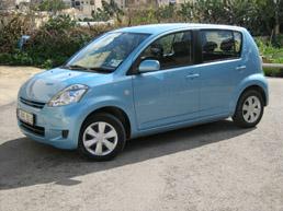 Malta e car hire malta car hire rent a car our cars group e diahatsu sirion sciox Images